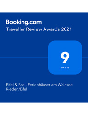 booking review awards 2021