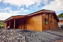 Ferienhaus Orchidee - 86 qm Wohnfläche es erwartet Sie ein modernes und komfortables Ferienhaus mit Fußbodenheizung, Sauna und vielem Mehr im Feriendo