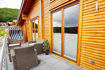 Ferienhaus Yasmin - 86 qm Wohnfläche - Sauna - Fußbodenheizung im Feriendorf Rieden Eifel.
