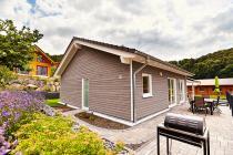 Ferienhaus Schönblick - 90 qm Wohnfläche mit Fußbodenheizung - Kamin - Sauna im Feriendorf Rieden Eifel.