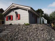 Ferienhaus Tobias - 80 qm Wohnfläche - eingezäunte Terrasse/Garten - DSL / W-LAN im Feriendorf Rieden Eifel.